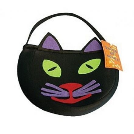 Cat Trick or Treat Bag, Halloween